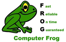 <strong>Computer Frog</strong> PC Repair Serving Lapeer and Flint Areas